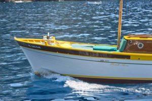 La barca San Luca della flotta Luma Charter