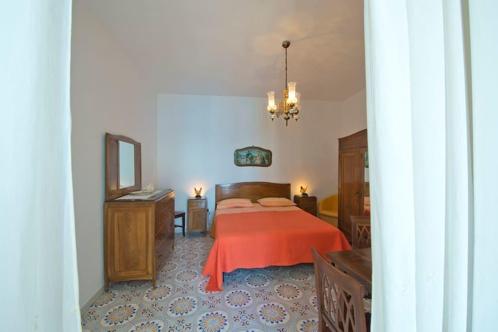 Casa Regina interior double bedroom