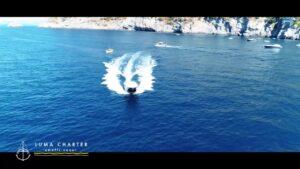 Luma charter video barca mare